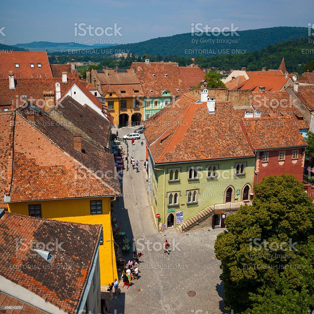 Sighaisoara, Romania royalty-free stock photo