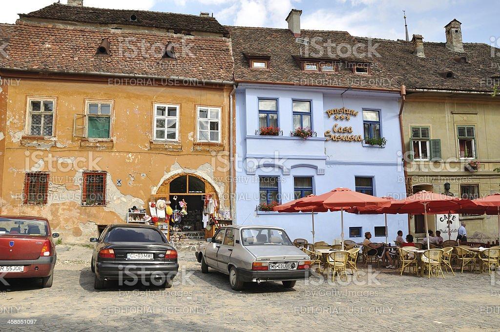 Sighişoara (Transylvania, Romania) royalty-free stock photo