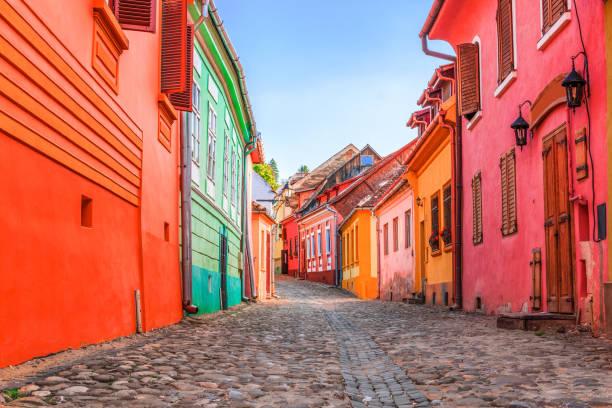 Sighisoara, Rumänien. – Foto