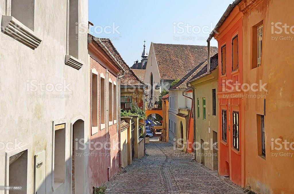 Sighisoara, Romania royalty-free stock photo