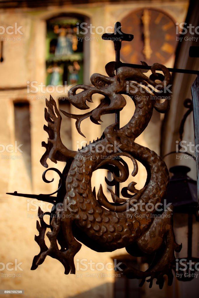 Sighisoara, Transylvania, Romania stock photo