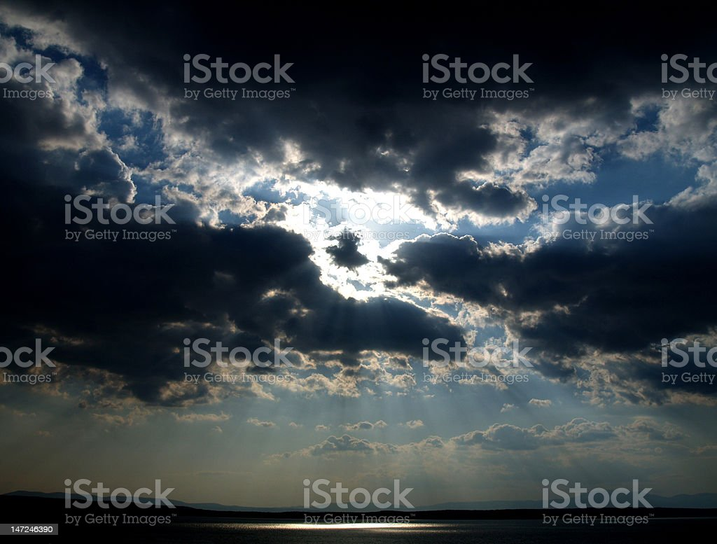 Sight from above royalty-free stock photo