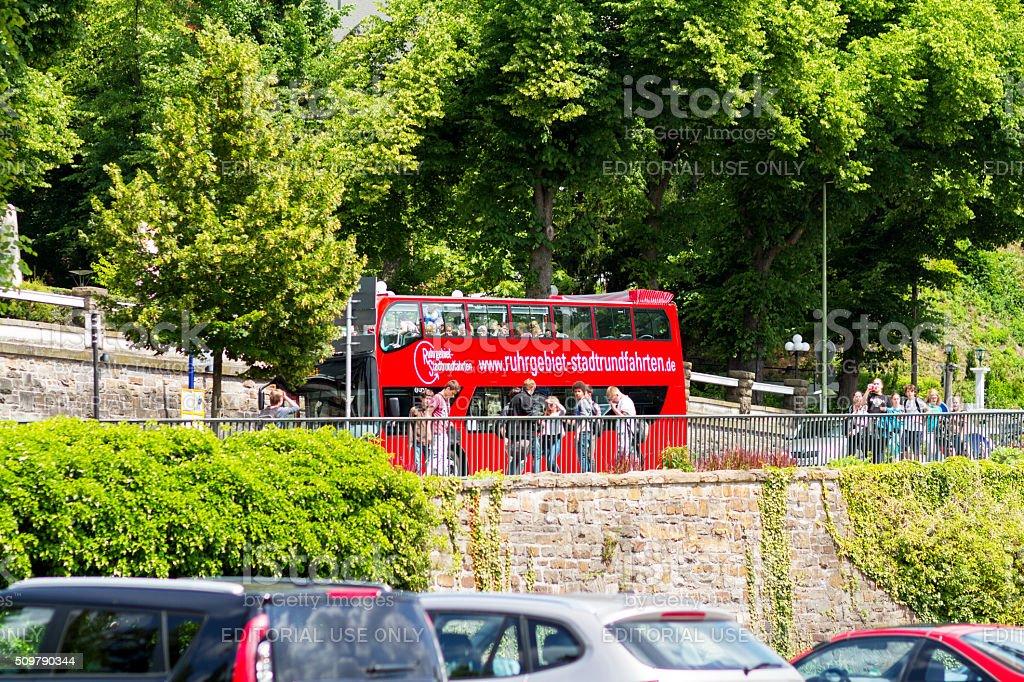 Sightseeing-bus in Essen – Foto