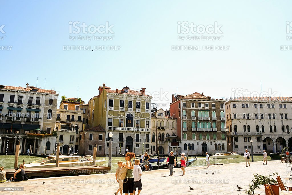 Sight seeing in Venice royalty-free stock photo