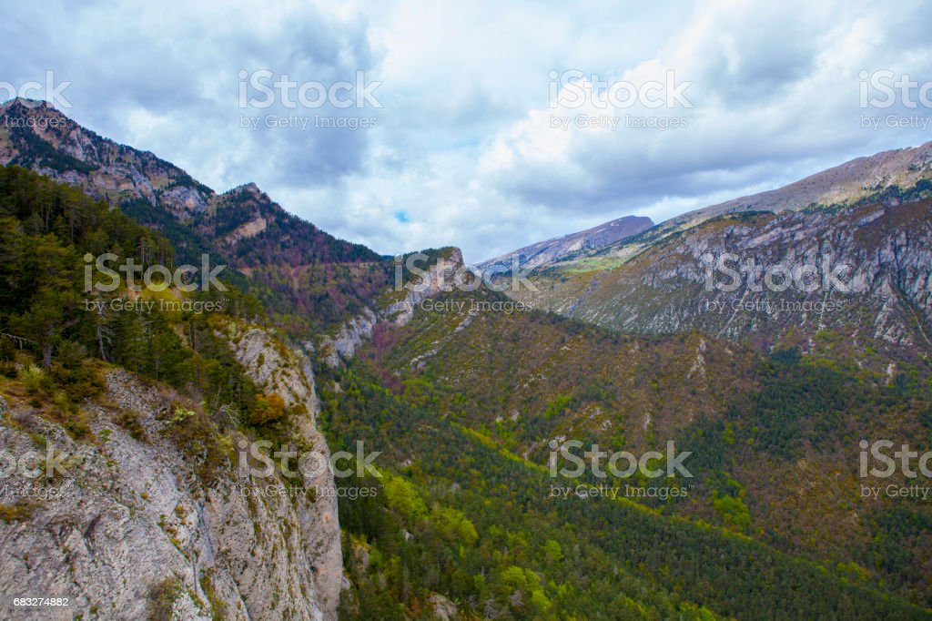 Sights from Gresolet sightseening site royalty-free stock photo