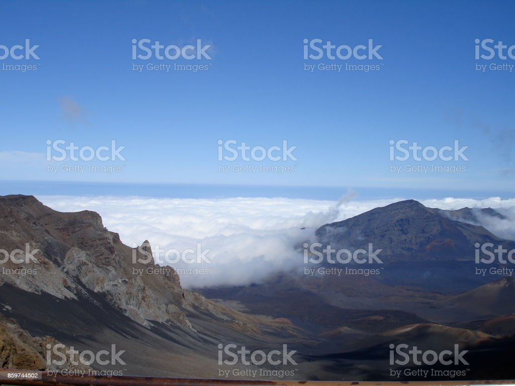 Sights of Maui, Hawaii stock photo