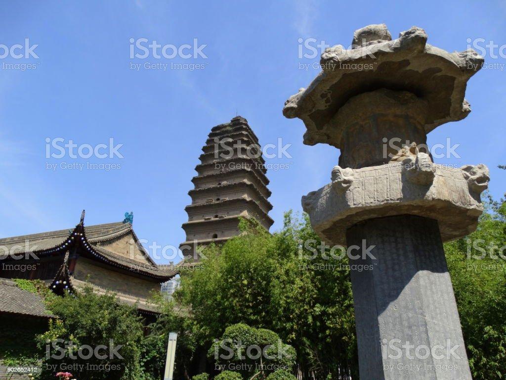 Sights - Xian, China stock photo