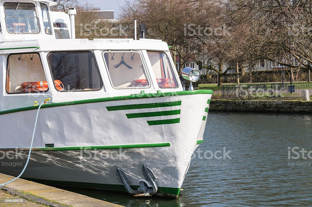 Sightseeing boat of the White Fleet at berth – Foto