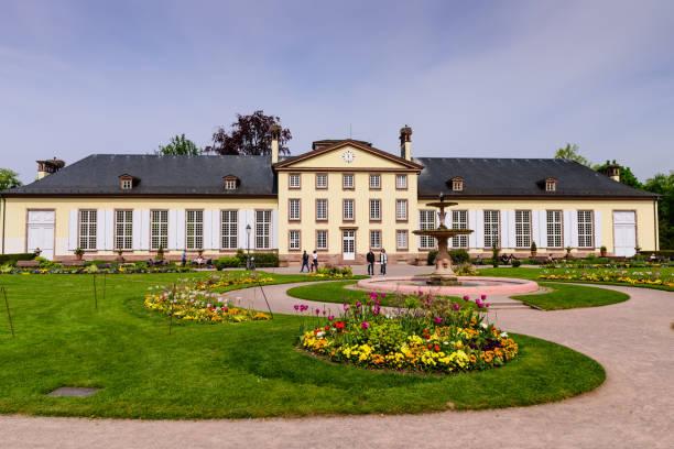 Sightseeing von Straßburg. Parc de l'orangerie und der Josephine Pavilion. – Foto