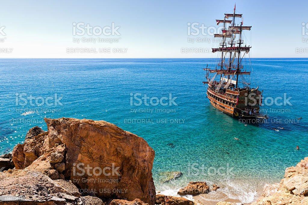 Sightseeing Ship stock photo