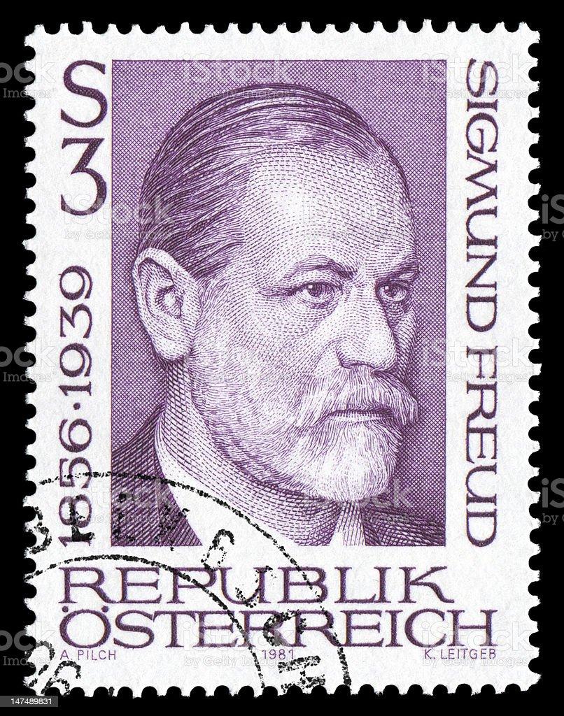 Sigmund Freud royalty-free stock photo
