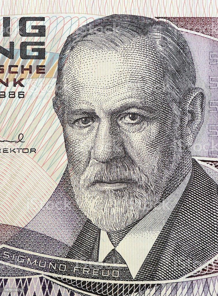 Sigmund Freud stock photo