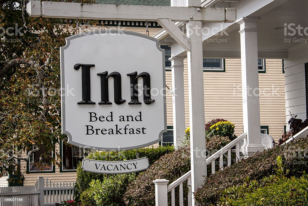 sign for an inn stock photo
