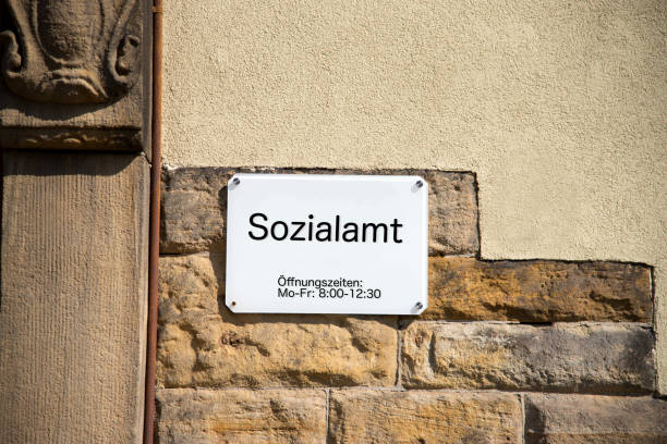 Ein Schild von einem Sozialamt – Foto