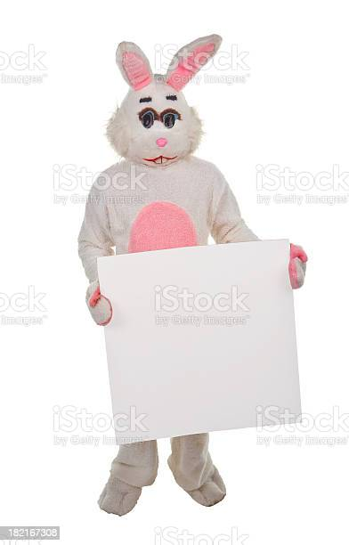 Sign holding easter bunny picture id182167308?b=1&k=6&m=182167308&s=612x612&h=9umrylfunujf1kbbimuz4y6awxhsq0tbosywbgq5tz4=