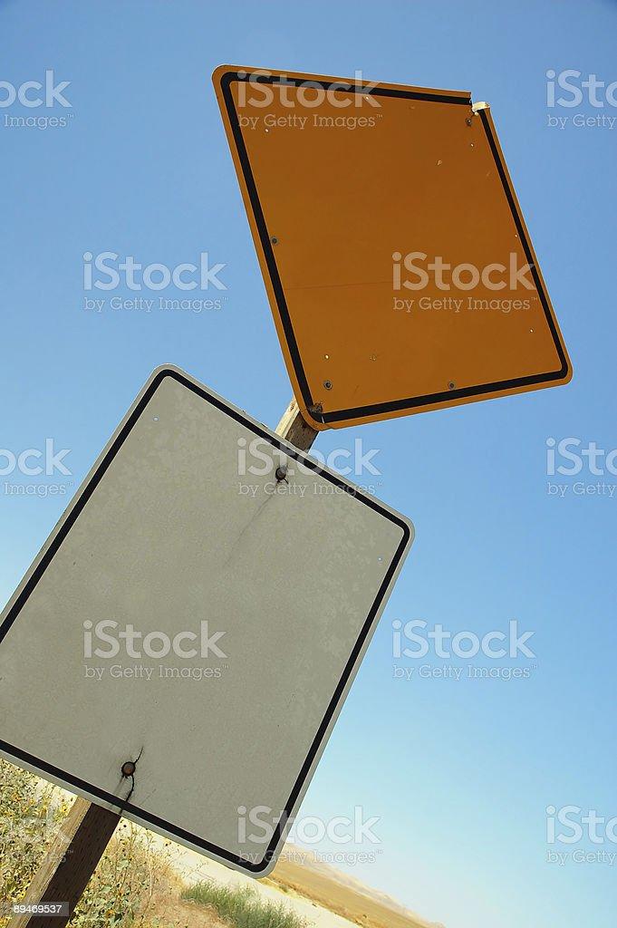 Schild auf dem Land – 2 Lizenzfreies stock-foto