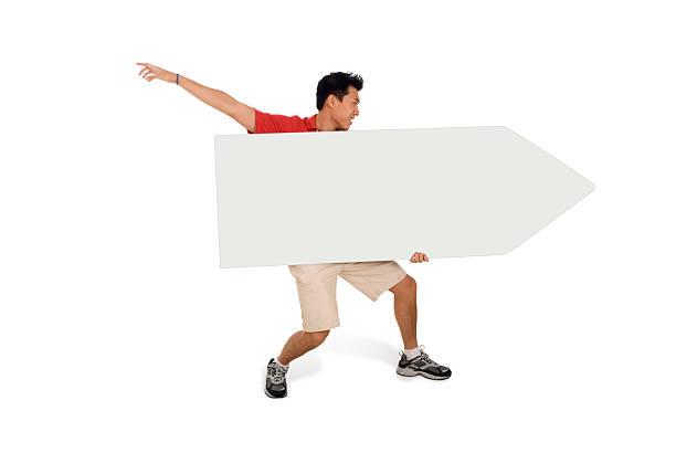 Sign Juggling Performer - Arm Flung Back stok fotoğrafı