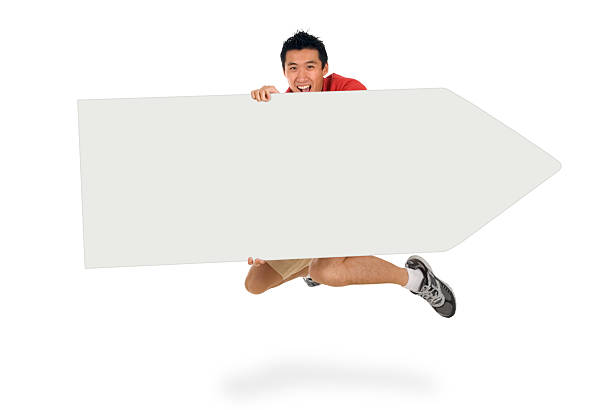 Sign Juggling Performer - Jumping High stok fotoğrafı