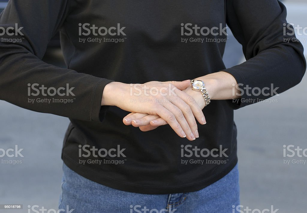 Sign Language stock photo