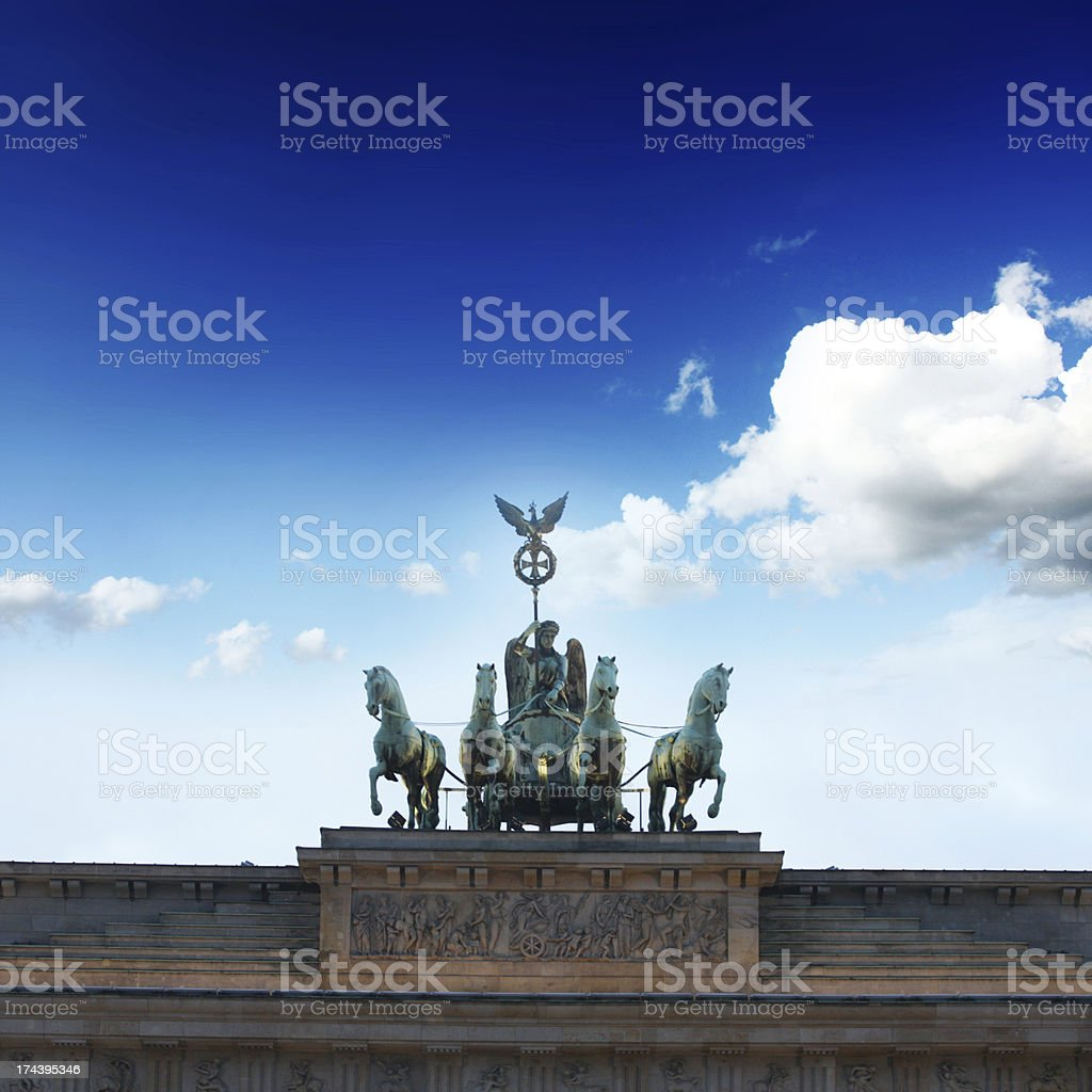 Sign of Berlin royalty-free stock photo