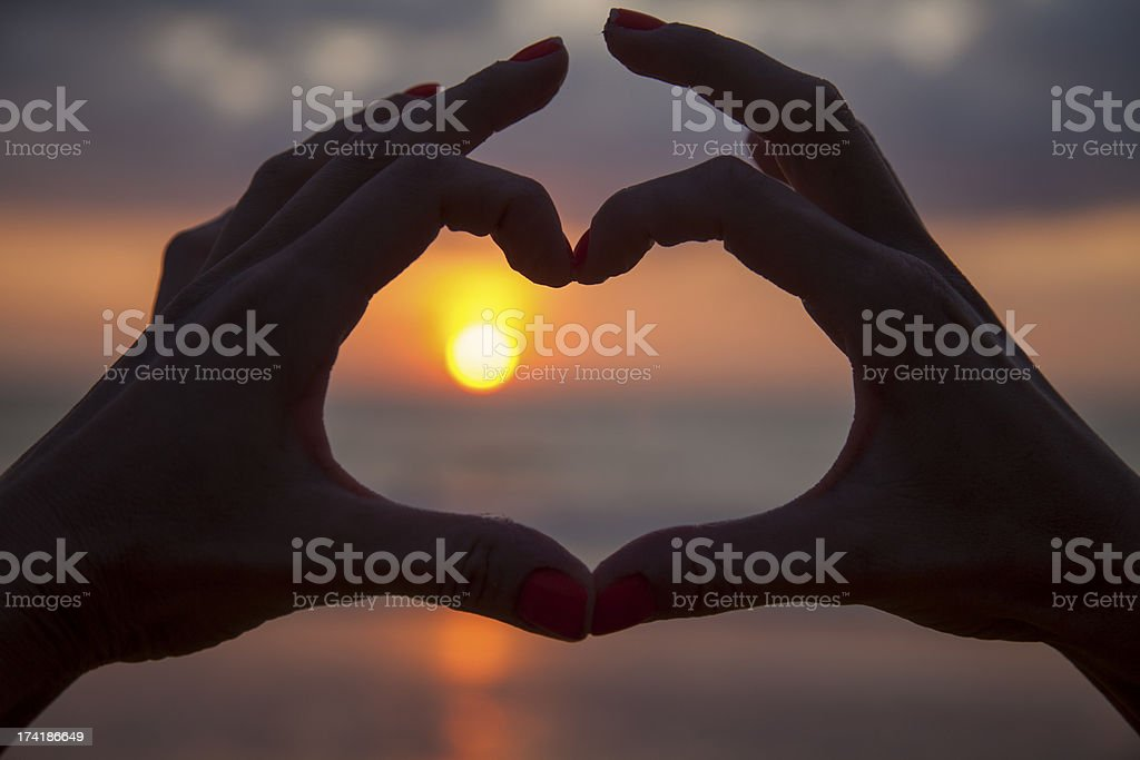 Sign of Love royalty-free stock photo