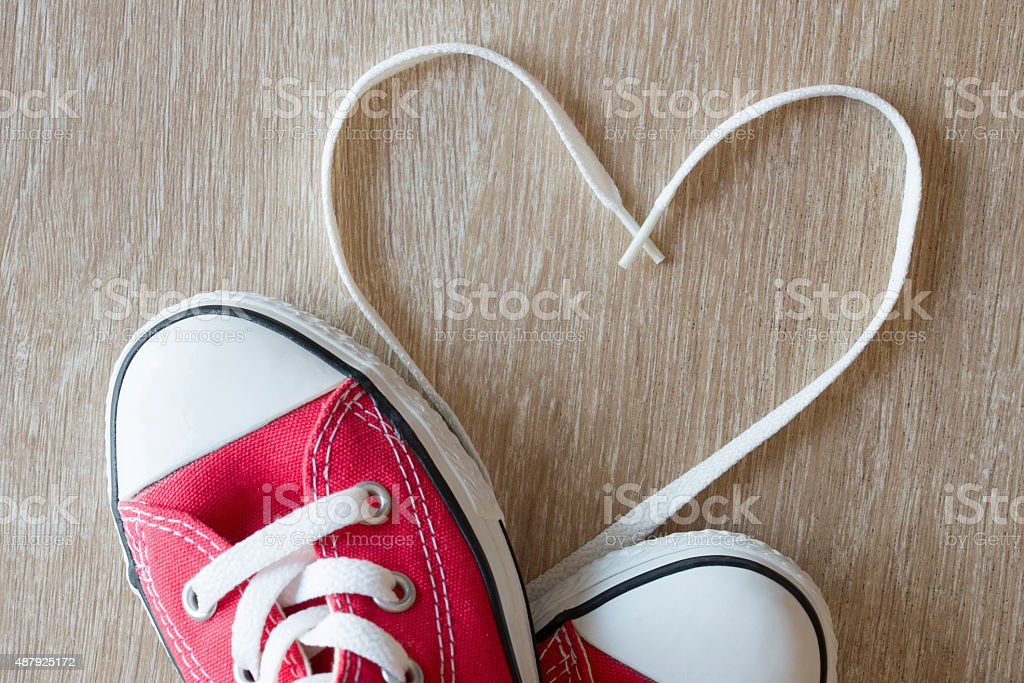 Sign of love stock photo