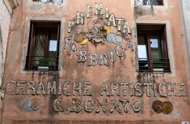 Sign on the facade of an old ceramic factory n bassano del grappa picture id1198108900?b=1&k=6&m=1198108900&s=612x612&w=0&h=i9p5tmtr3yjlzi2wndiznigcdumocl 78xj5yd tgqe=