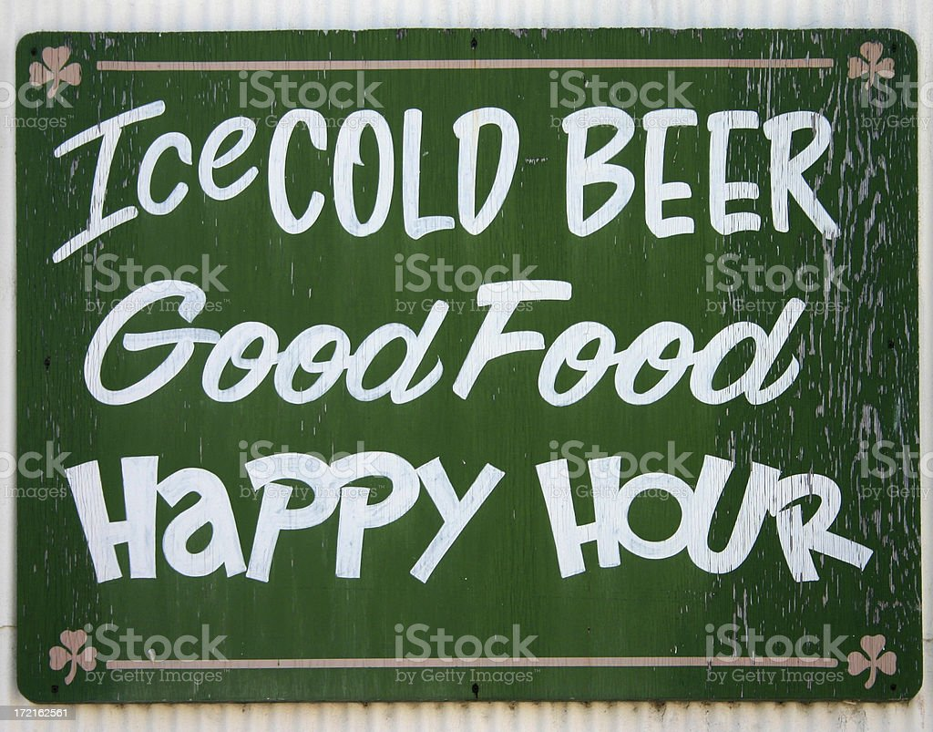 Sign outside a Tavern royalty-free stock photo