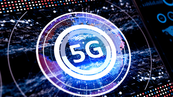 abstract 5G concept new technology and innovations