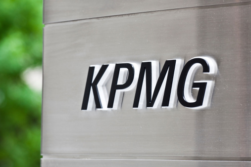 Kpmg Sign Stock Photo - Download Image Now