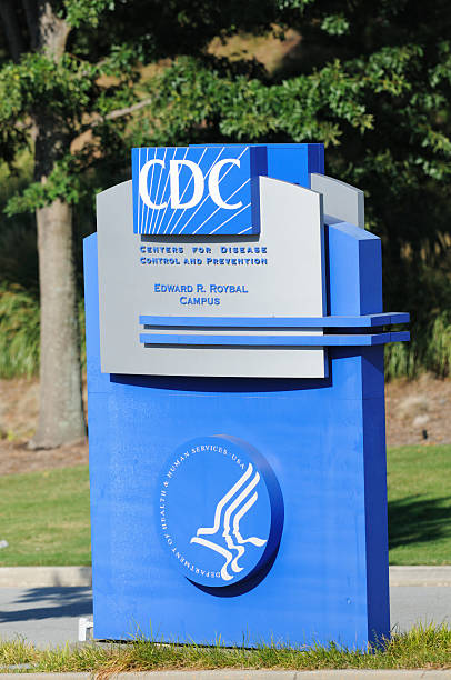 CDC sign stock photo
