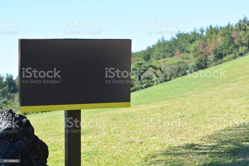 sign stock photo