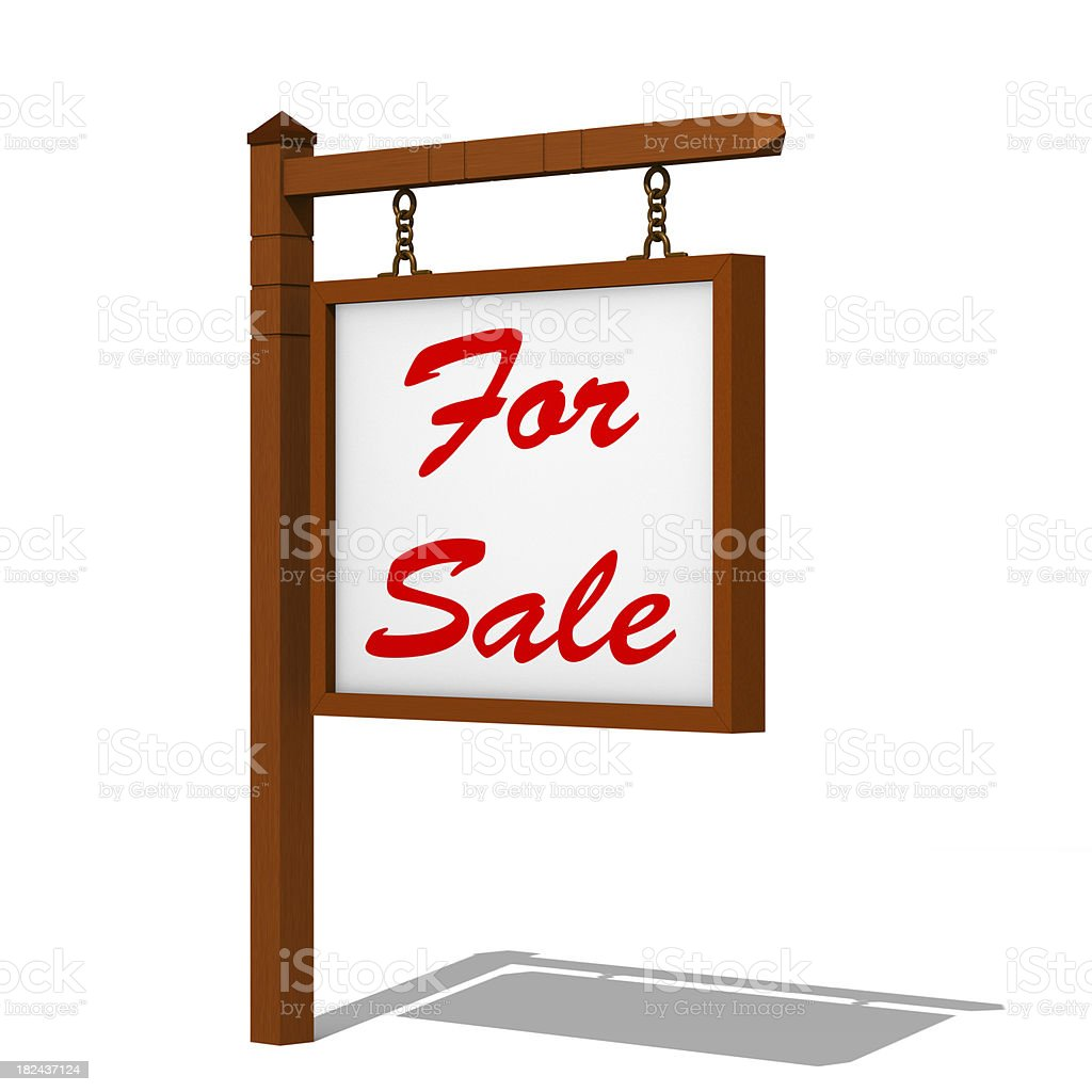 Sign post stock photo