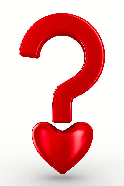 Image result for heart question mark
