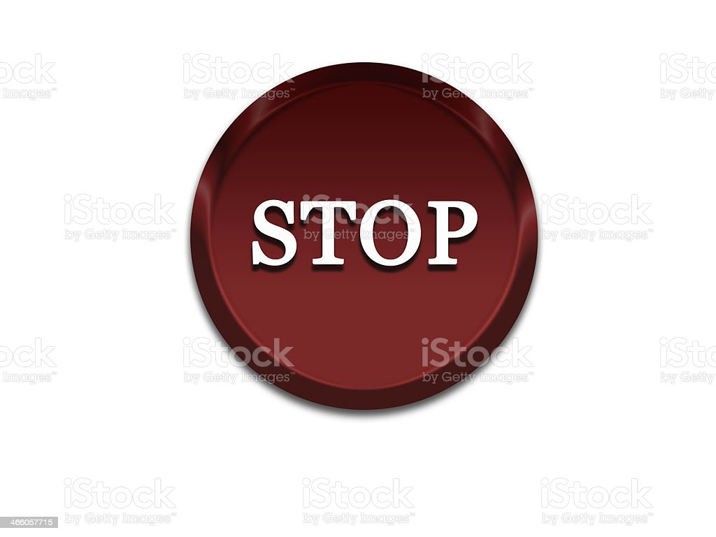 Sign STOP stock photo