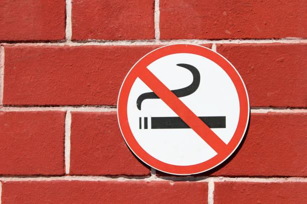 Sign stop smoking – zdjęcie
