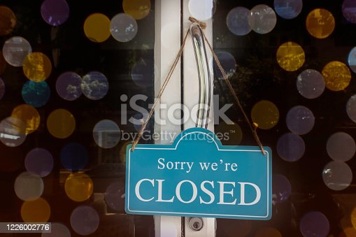 1213432934 istock photo A sign that says