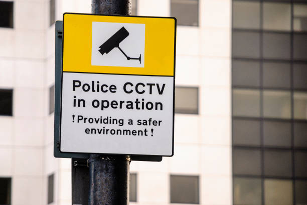 Best Video Surveillance Warning Signs Stock Photos, Pictures