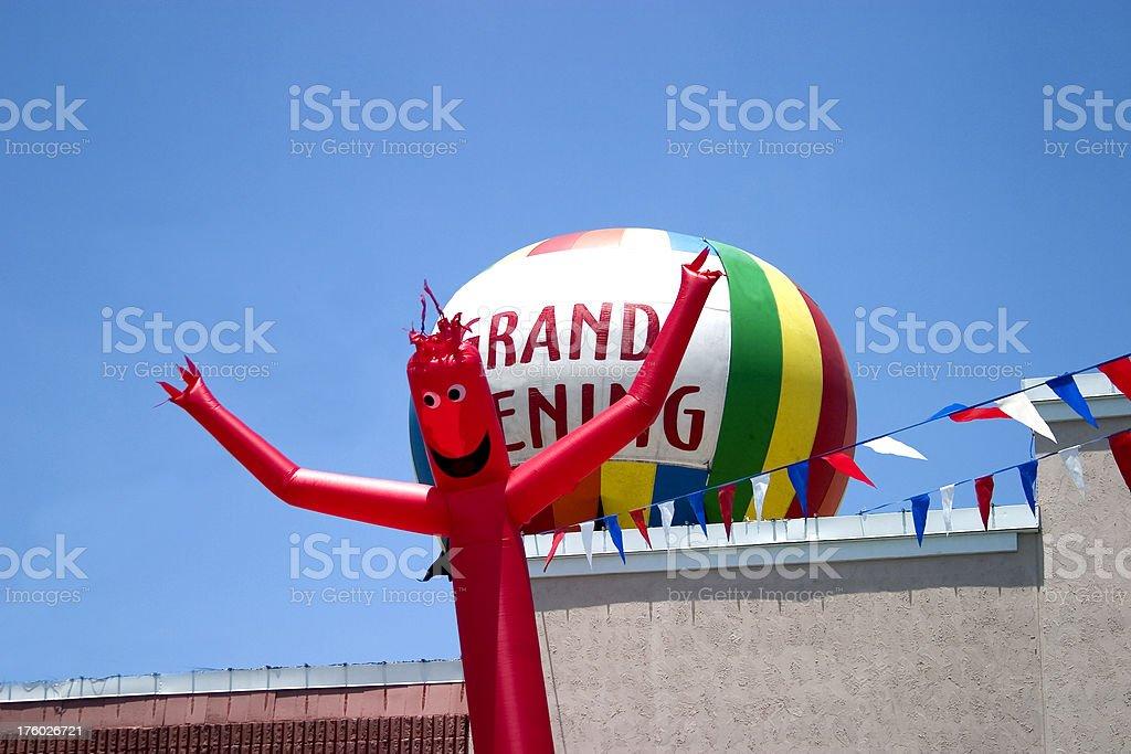 Signage - Grand Opening stock photo