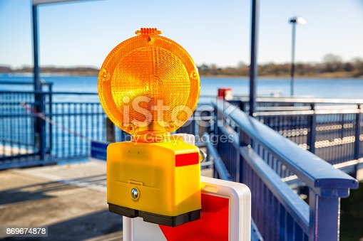 1030314738 istock photo Signal alarm flashlight 869674878