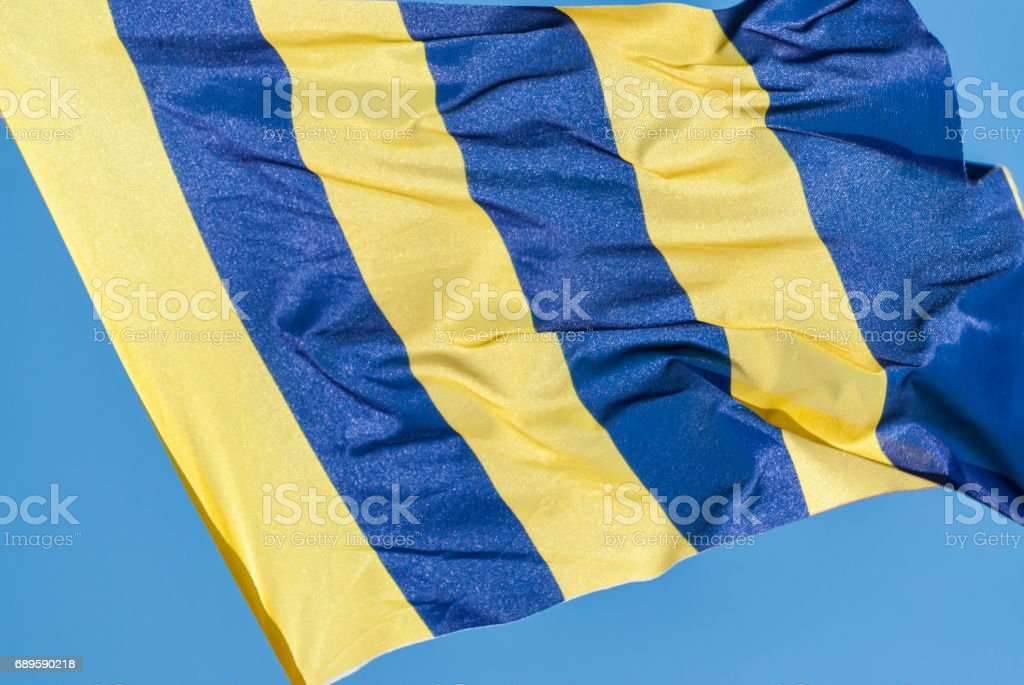 Signal flag Golf stock photo