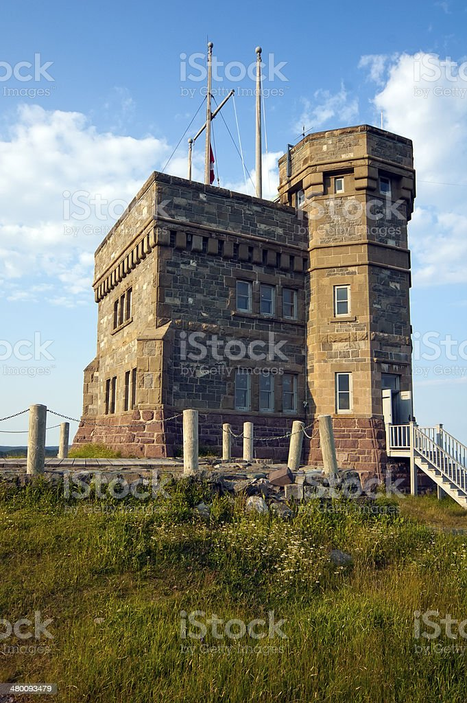 Signal hill, St. John's, Newfoundland stock photo