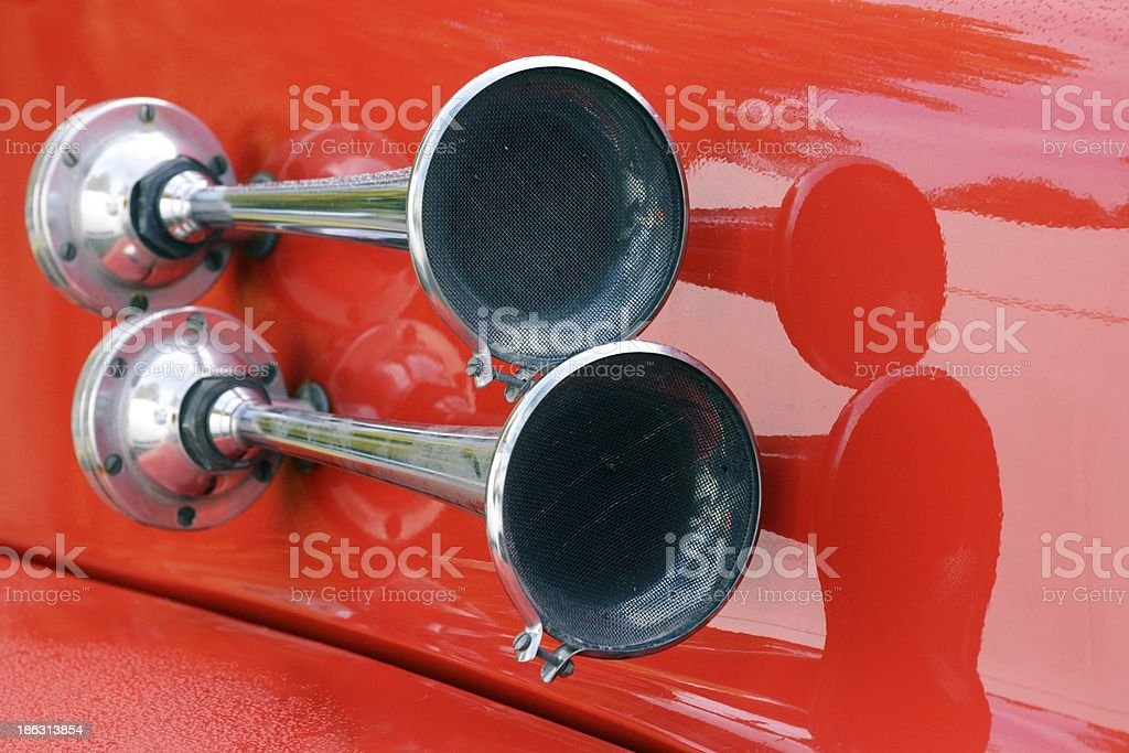 Signal Horn royalty-free stock photo