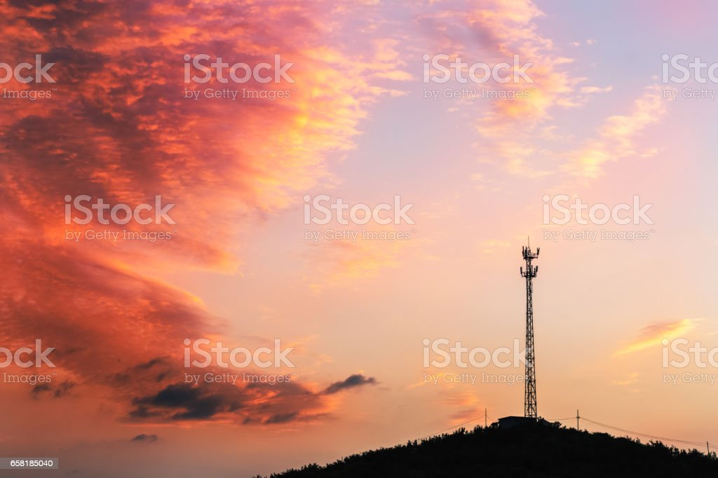 signal tower - Photo