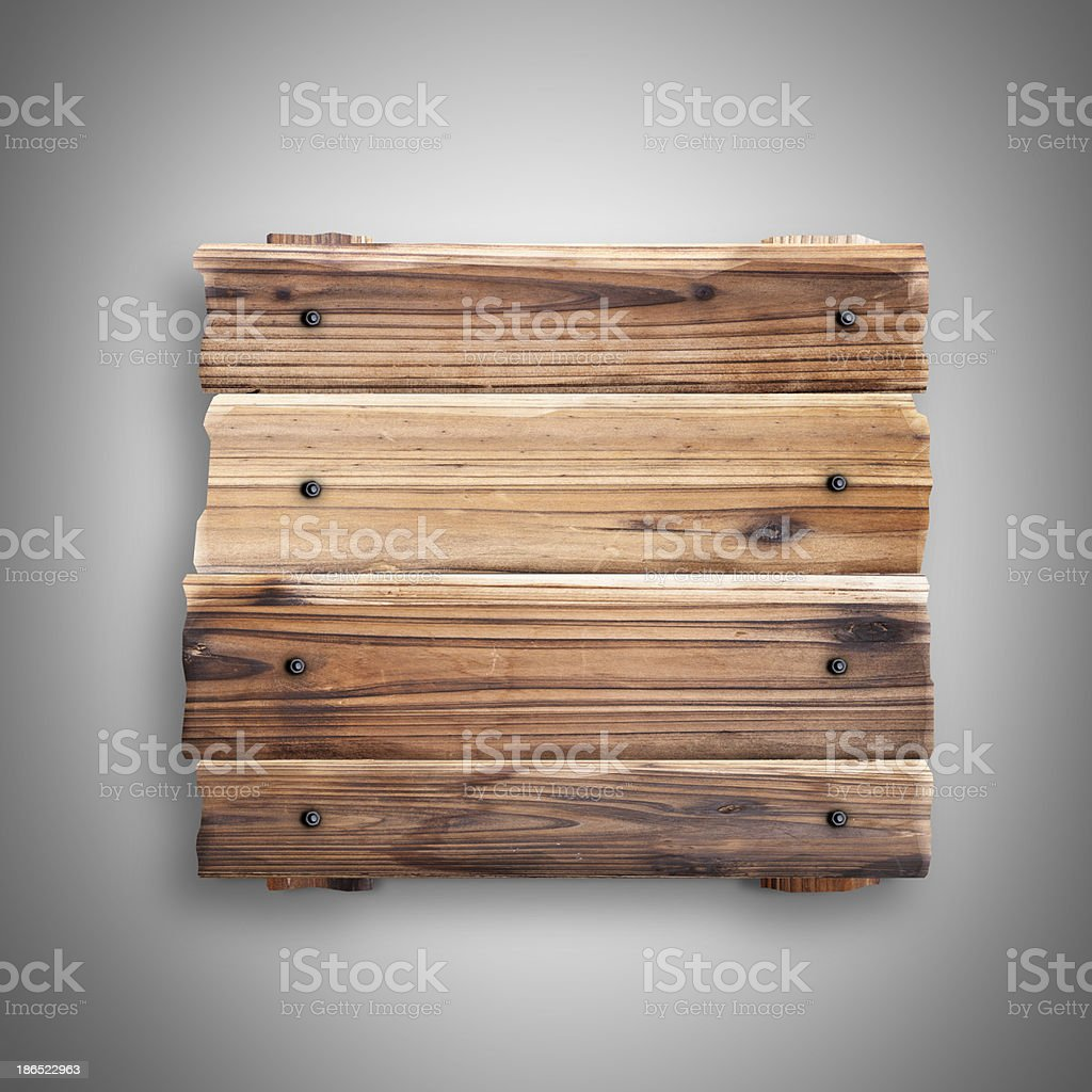 signboard from an old boards royalty-free stock photo