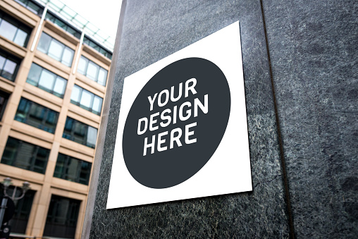 istock Signboard on the wall 931990200
