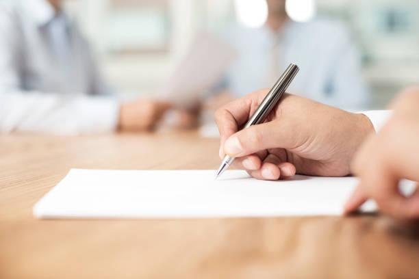 assinatura do acordo - assinar - fotografias e filmes do acervo