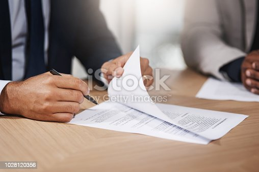 istock Signing off another big business deal 1028120356