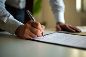 istock Signing Official Document 1269951769