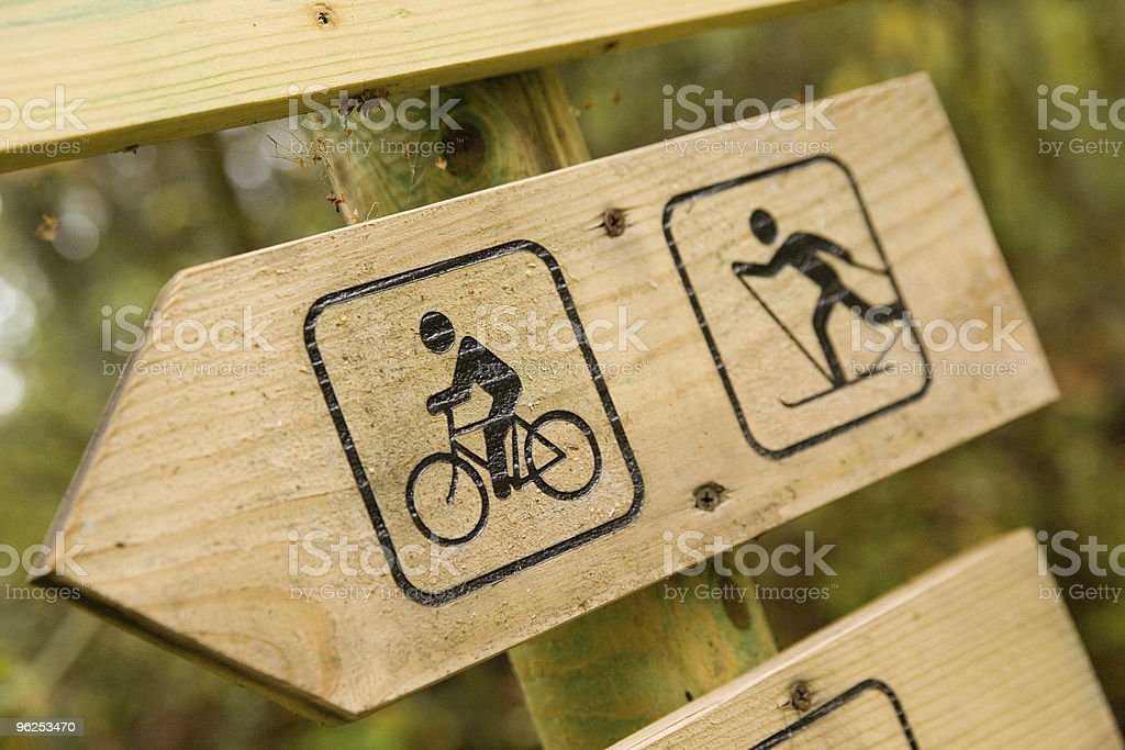 Signpost - Royalty-free Activity Stock Photo